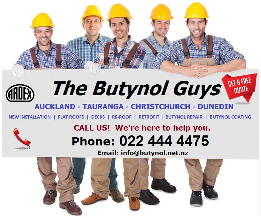 The Butynol Guns | Butynol Contractors in Auckland, Tauranga, Christchurch and Dunedin.